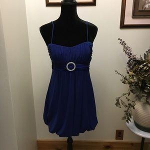 Taboo sapphire dress